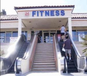 Fitnessrolltreppe